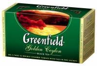 Чай Greenfield Golden Ceylon 25 пак по 2г