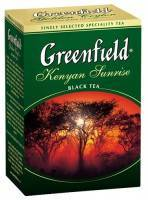 Чай Greenfield Kenyan Sunrise 100г